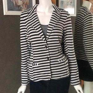 NWT Andrew Marc Yoga Performance Blazer Small